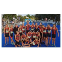 Huntley knock St Kentigerns off their national schools triathlon perch in New Plymouth
